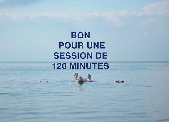 BON DE FLOTTAISON | 120 minutes
