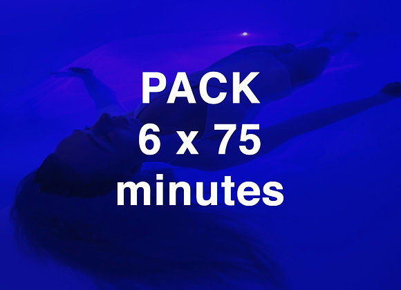 PACK 6 x 75 minutes