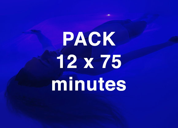 PACK 12 x 75 minutes