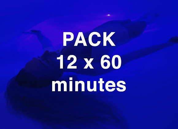 PACK 12 x 60 minutes