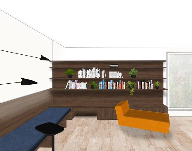 Rénovation d'un espace de jour