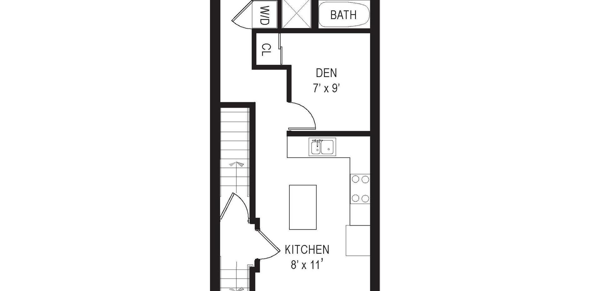 711 15th Street NE floor unit 3plan