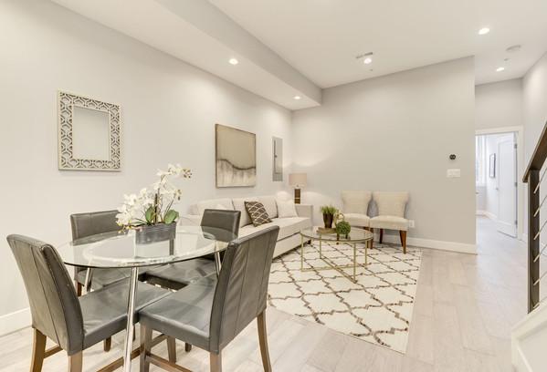 711 15th Street Living Room