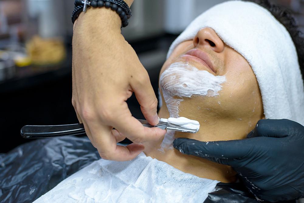 noivo, making-of, barbearia