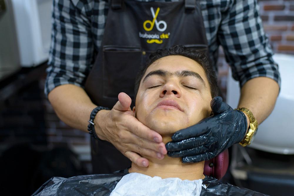 noivo, making-of, barbearia diniz