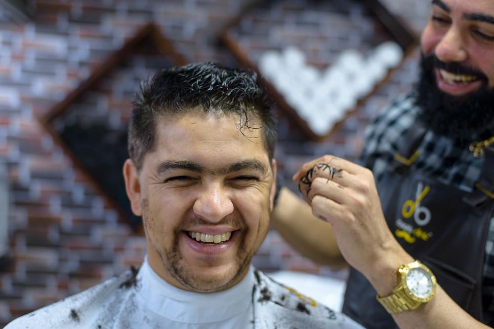 noivo, barbearia