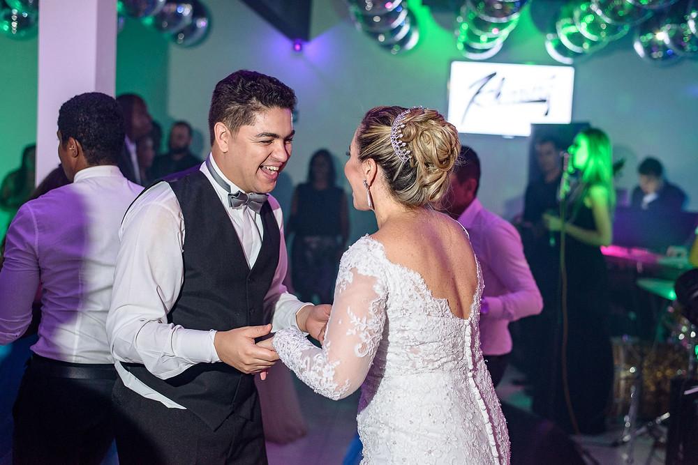 festa, casamento, telene e fernando