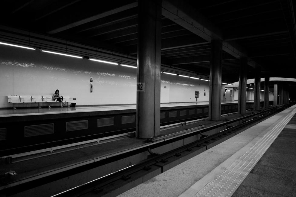 Nova galeria autoral: Metrô