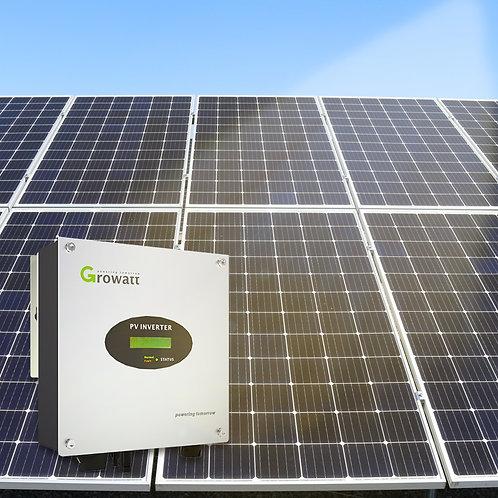 Solcellepakke 12 paneler 3960w