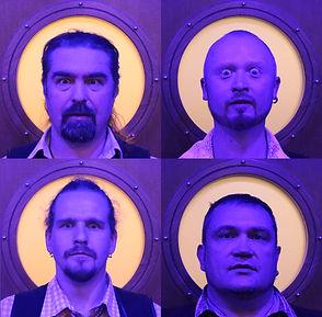 синие безумные лица кавер группы