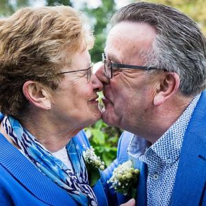 50 jarige bruiloft van Sjef & Toos Wiersma