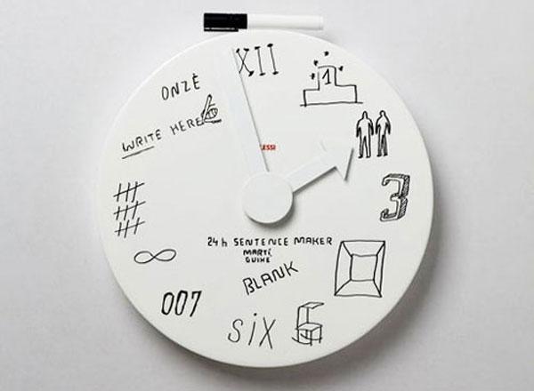 Часы маркерные