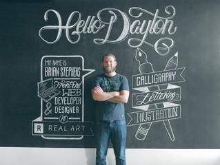 Знакомьтесь - Брайан Стивенс! Дизайнер, каллиграфист.