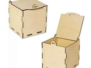 Коробки и ящики из фанеры. Лазерная резка