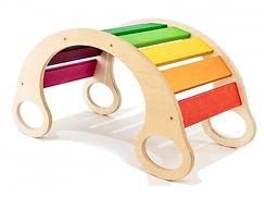 Мольберт детский деревянный магнитно-маркерный развивающий