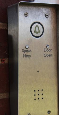 Entrance buttons