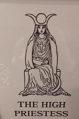 High Priestess Tarot Card Print