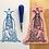 Thumbnail: High Priestess Tarot Card Enamel Pin