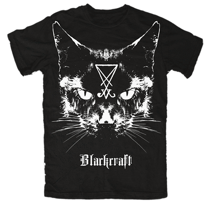 Lucifer the Cat Mens/Unisex T-Shirt
