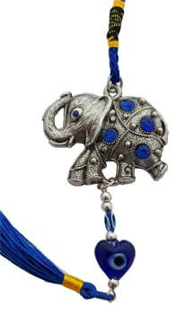 Elephant Evil Eye Wall Hanging