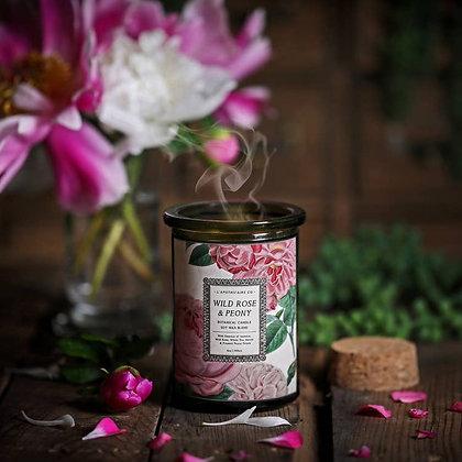 Botanica: Wild Rose & Peony Candle
