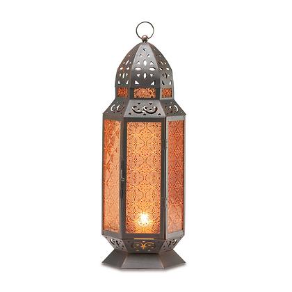 Tall Morrocan-Style Candle Lantern