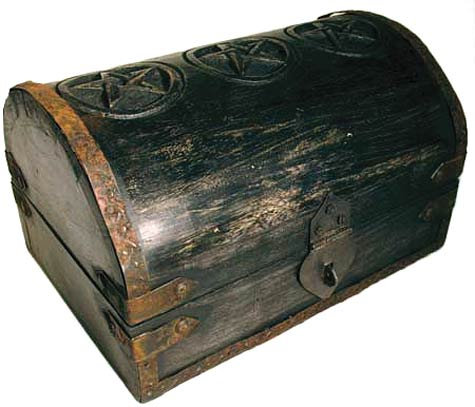 Pentacle Round Top Box