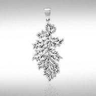 Oak Leaf Pendant in Sterling Silver
