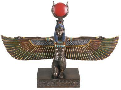 Isis Statue in Bronze