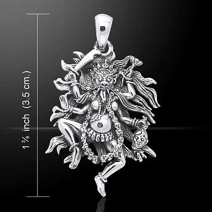 Kali Pendant in Sterling Silver