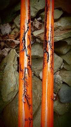 Orange Lightning Besom