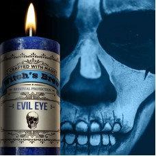 Evil Eye Candle