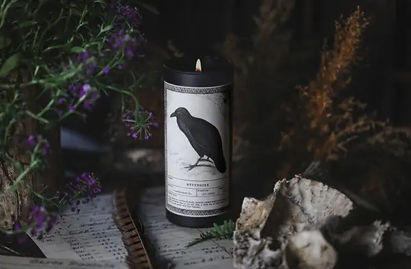 Nevermore Ritual Candle