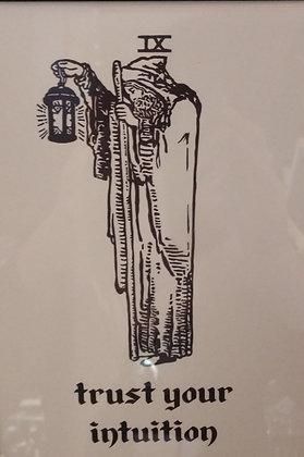 Hermit Tarot Card Print