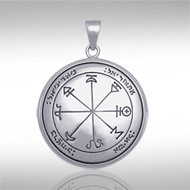 The First Pentacle of Mars Pendant in Sterling Silver