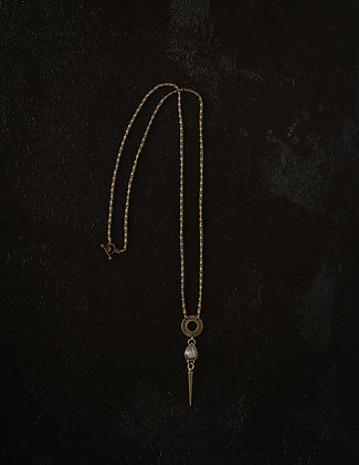 The Tear and The Spear Necklace