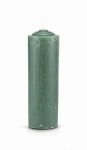 Green Pull Out Candle (Glass Holder Option)