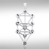 Sephiroth Pendant in Sterling Silver