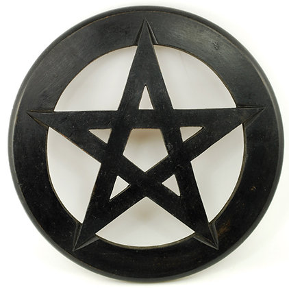 Wooden Pentacle Wall Hanging