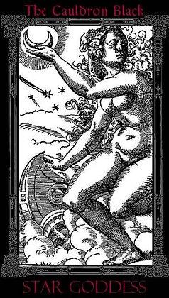 Star Goddess Black Label 7-Day Candle