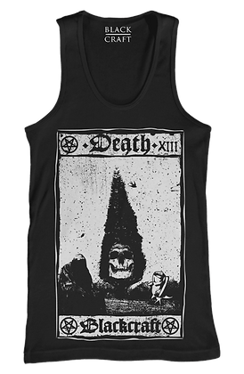 Death Tarot Card Mens/Unisex Tank Top