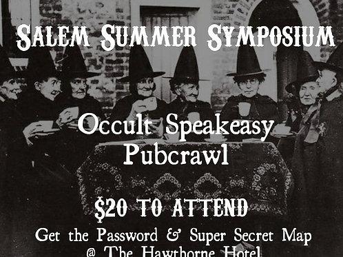 Occultist Speakeasy Pub Crawl, Sunday August 11th 12pm