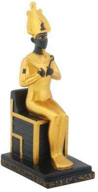 Seated Osiris Statue