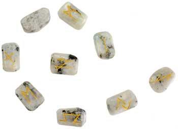 Rainbow Moonstone Runes