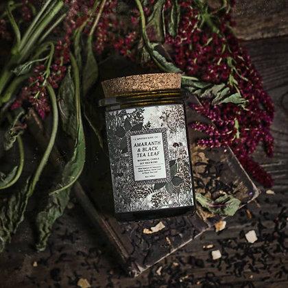 Botanica: Amaranth & Black Tea Leaf Candle