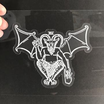 Vinyl Sticker - The Devil Tarot Card