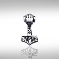Thor's Hammer (small) in Sterling Silver