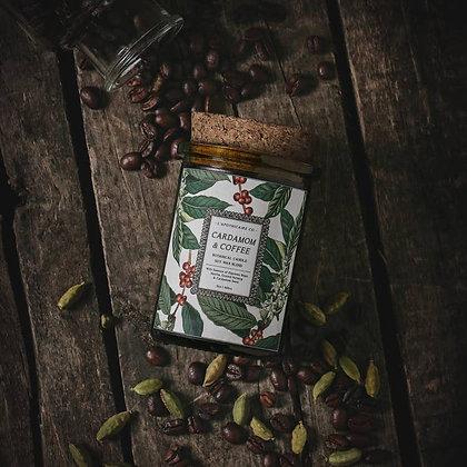 Botanica: Cardamom & Coffee Candle
