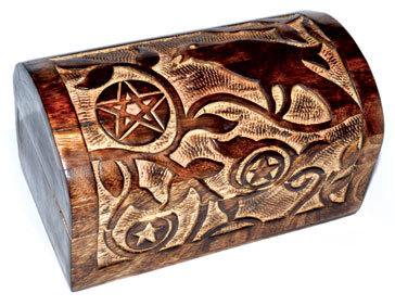 Pentacle & Crow Chest