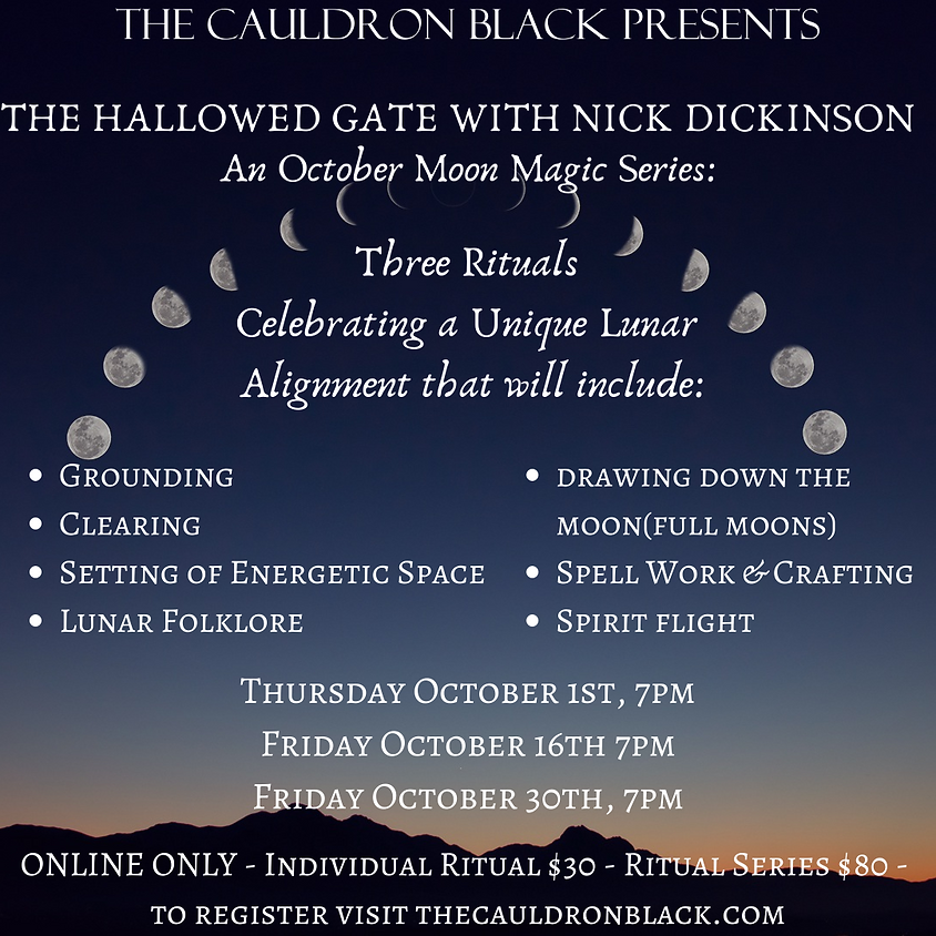 The Hallowed Gate: An October Moon Magic Series